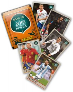 Cromos Road to Russia 2018