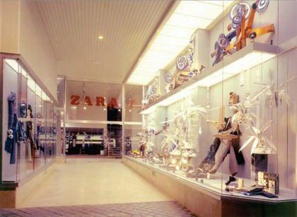 Primera tienda de Zara en La Coruña
