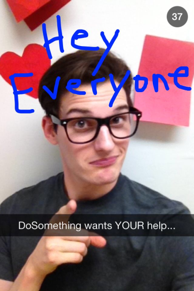 Campaña de DoSomething.org por Snapchat