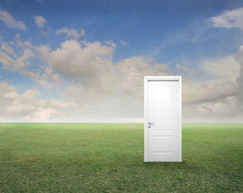 No cierre la puerta con un cliente