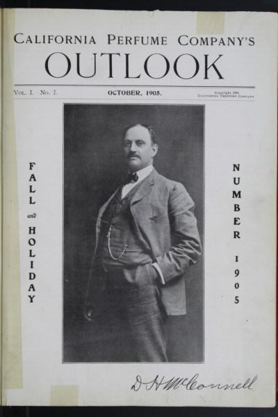 David McConell fundador Avon