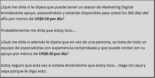 Asesor de Marketing