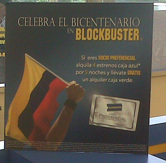 Blockbuster bicentenario