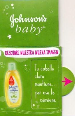 Cambio Shampoo Johnson's 1