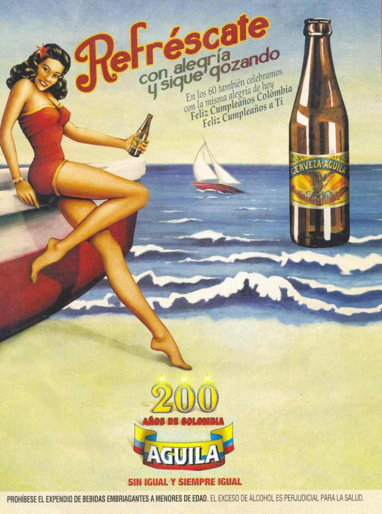 Cerveza Aguila 60's