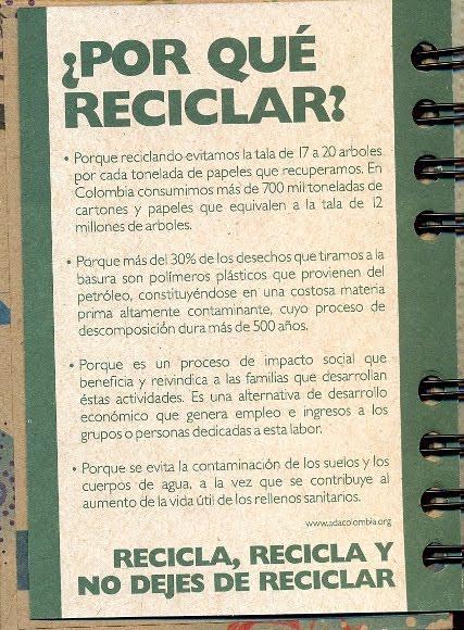 Libreta reciclada 1