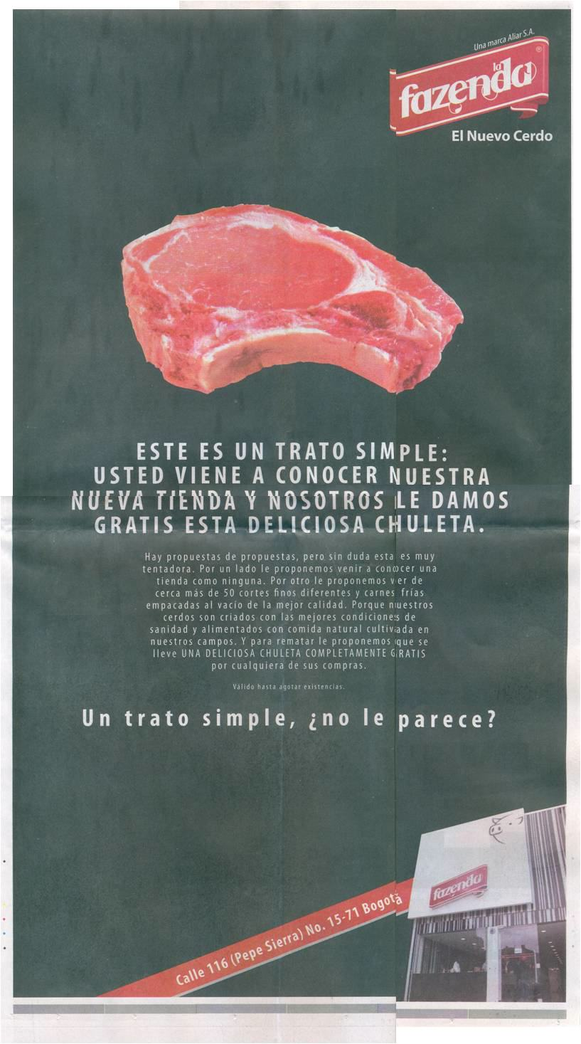Carne de cerdo Fazenda