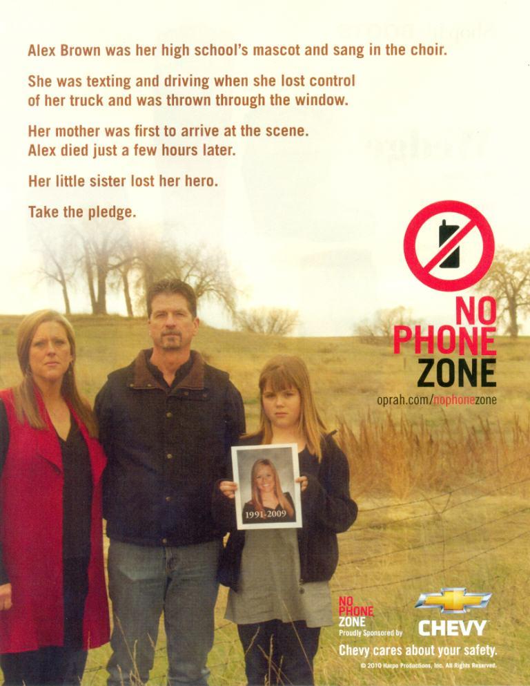 Chevy No Phone Zone