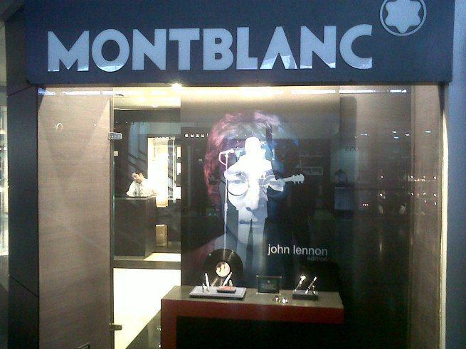 Exhibicion Montblanc John Lennon