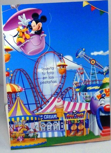 Portaretrato de obsequio en las arepas de Mickey
