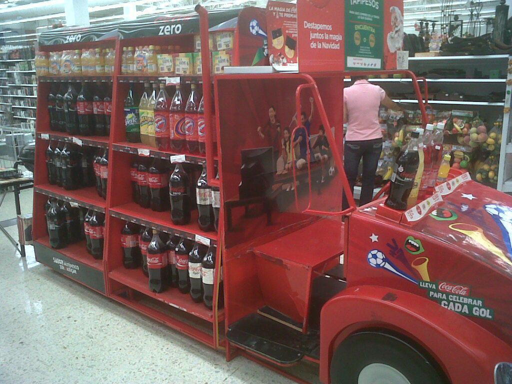 Exhibicion Coca Cola