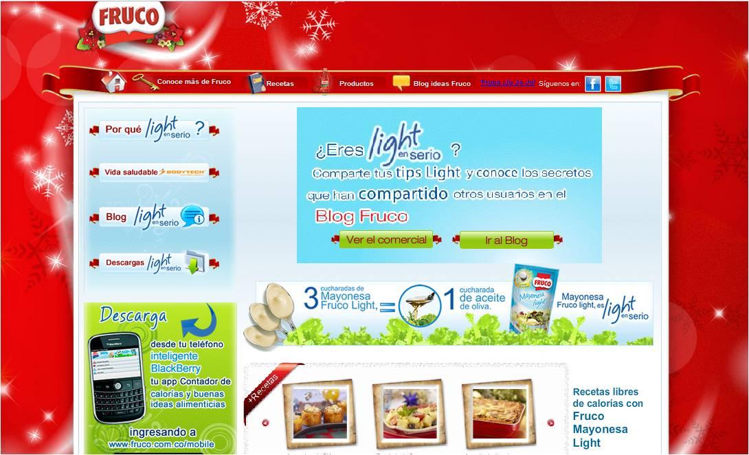 Pagina web Light