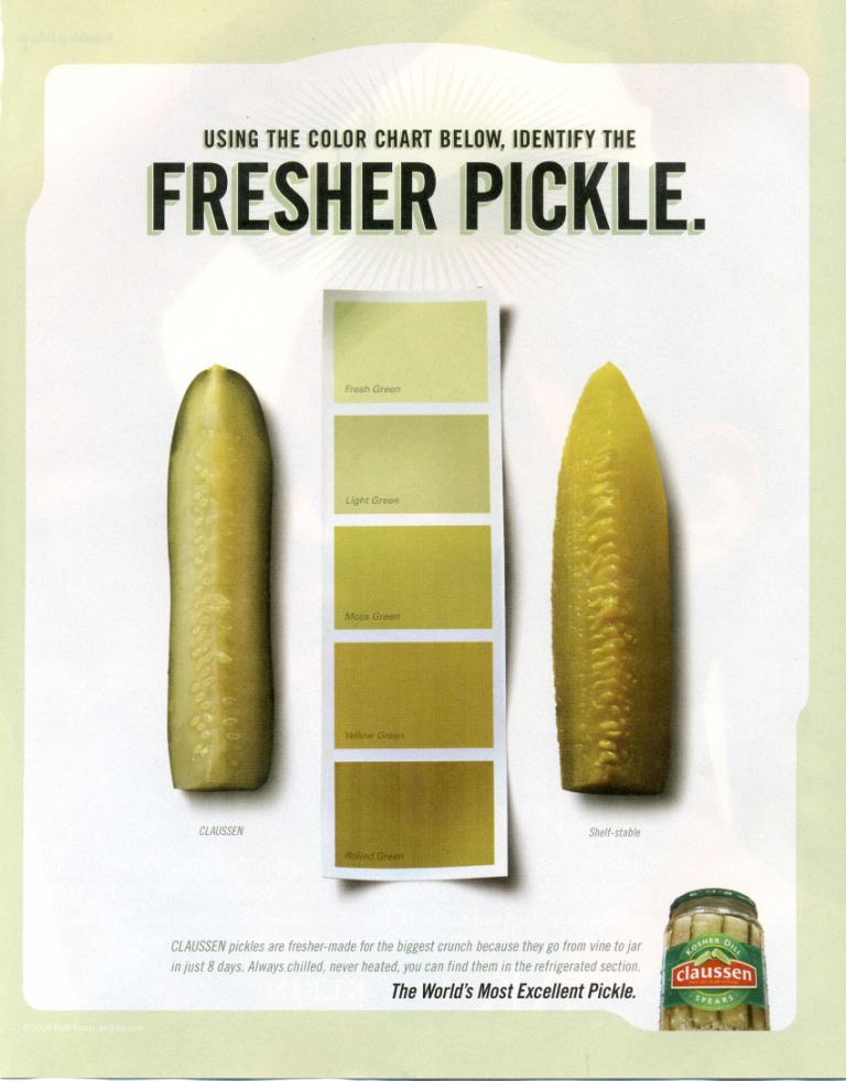 Fresher pickle
