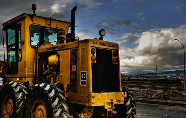 Maquinaria Caterpillar: rudeza y trabajo pesado