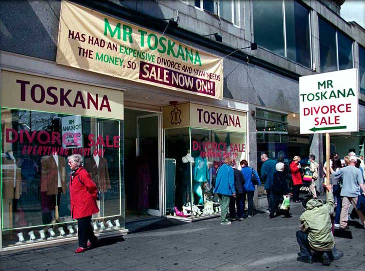 Mr Toskana Divorce Sale