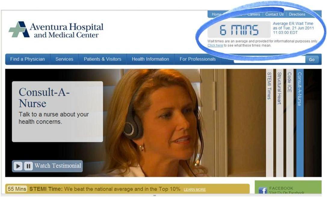Pag web Aventura Hospital