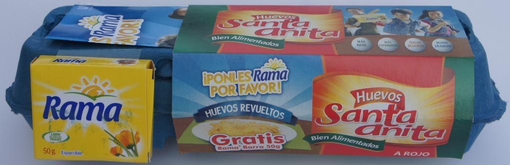 Rama promueve ocasión de consumo: huevos con Rama