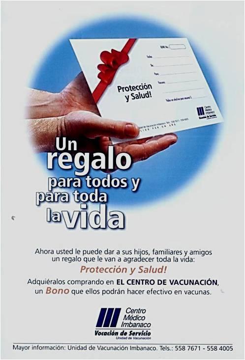 Bono vacuna