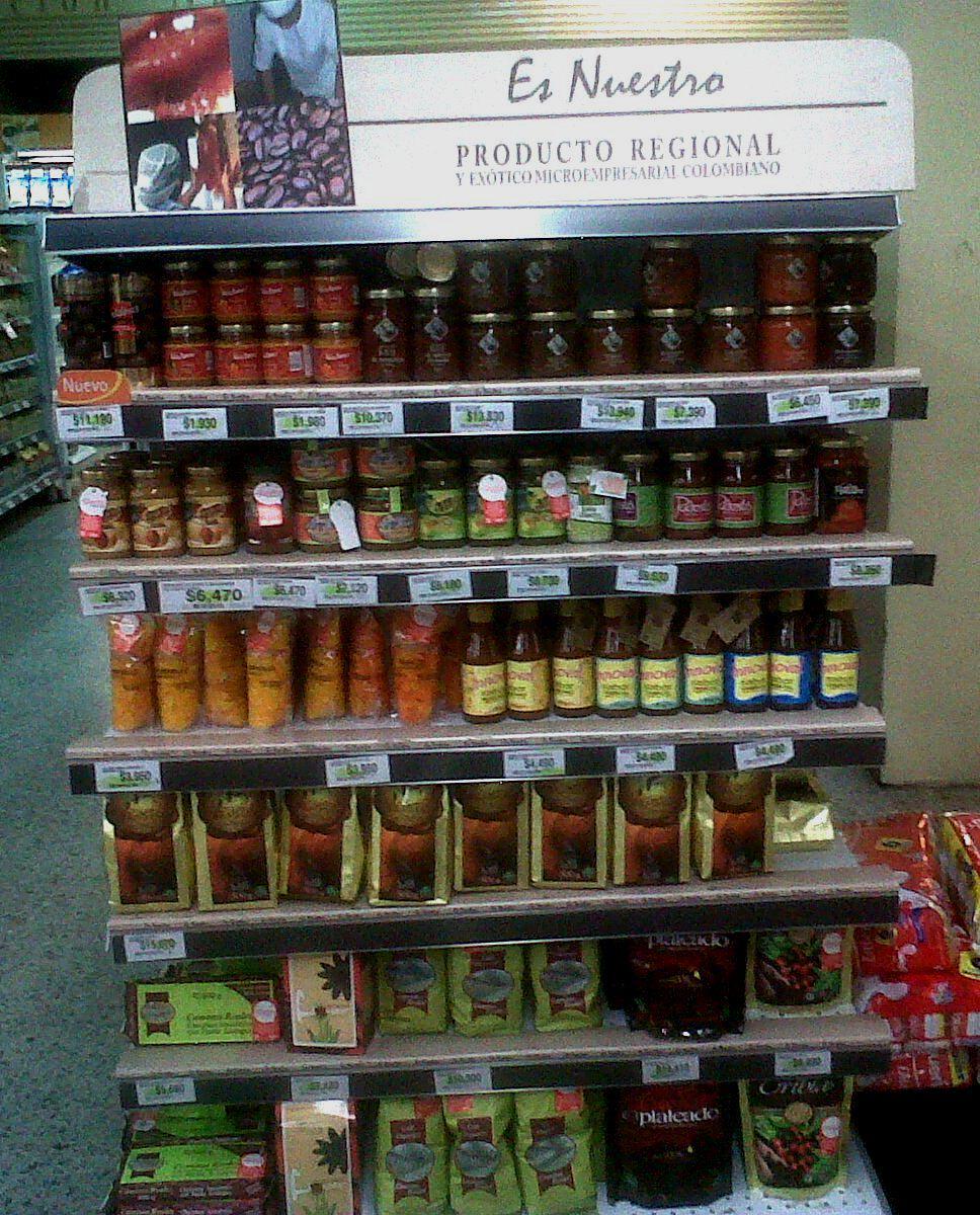 Exhinbicion productos regionales