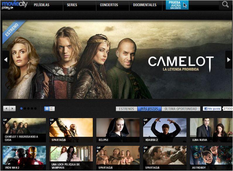 MovieCity en internet