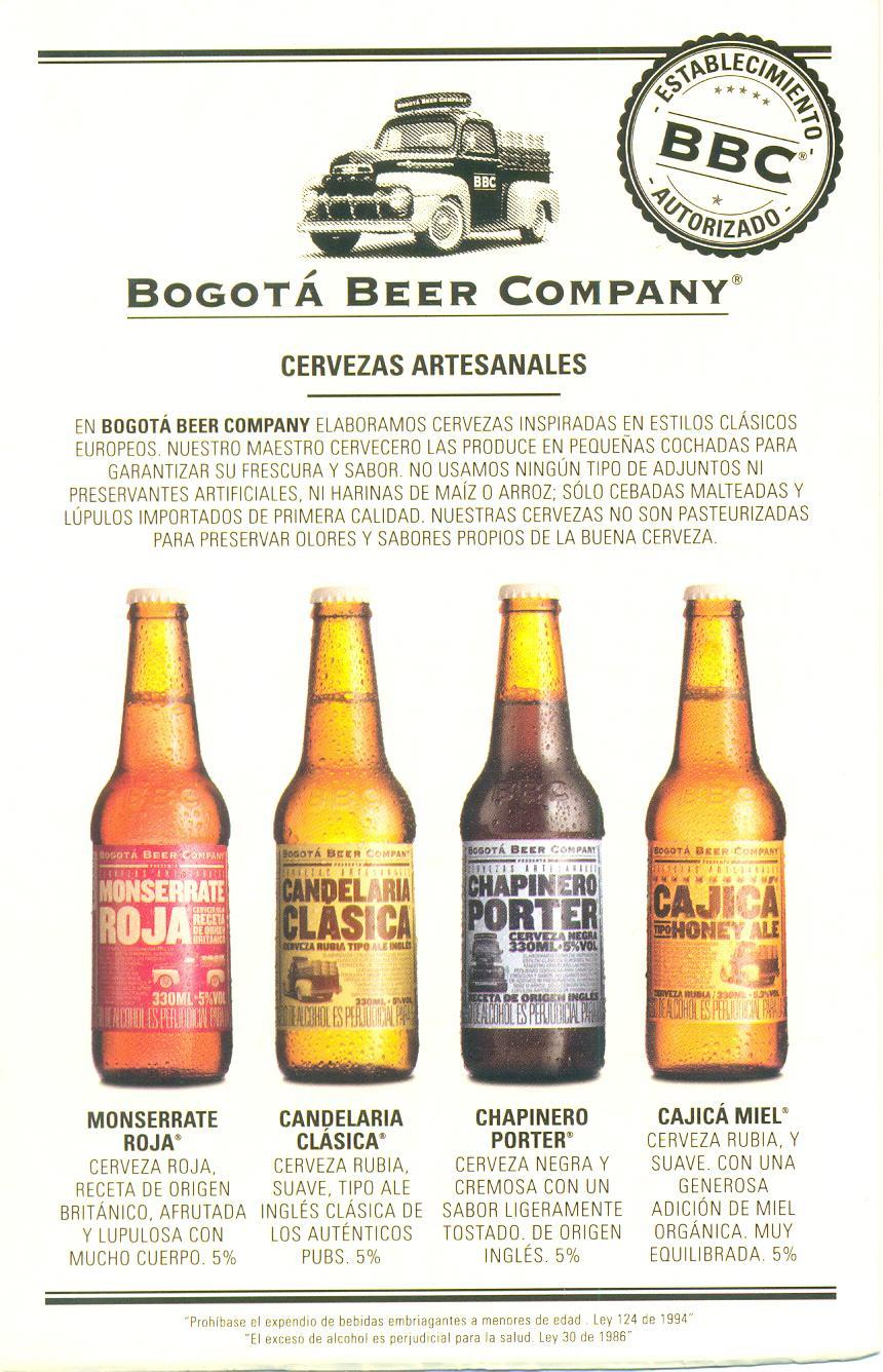 Tipos de cerveza BBC