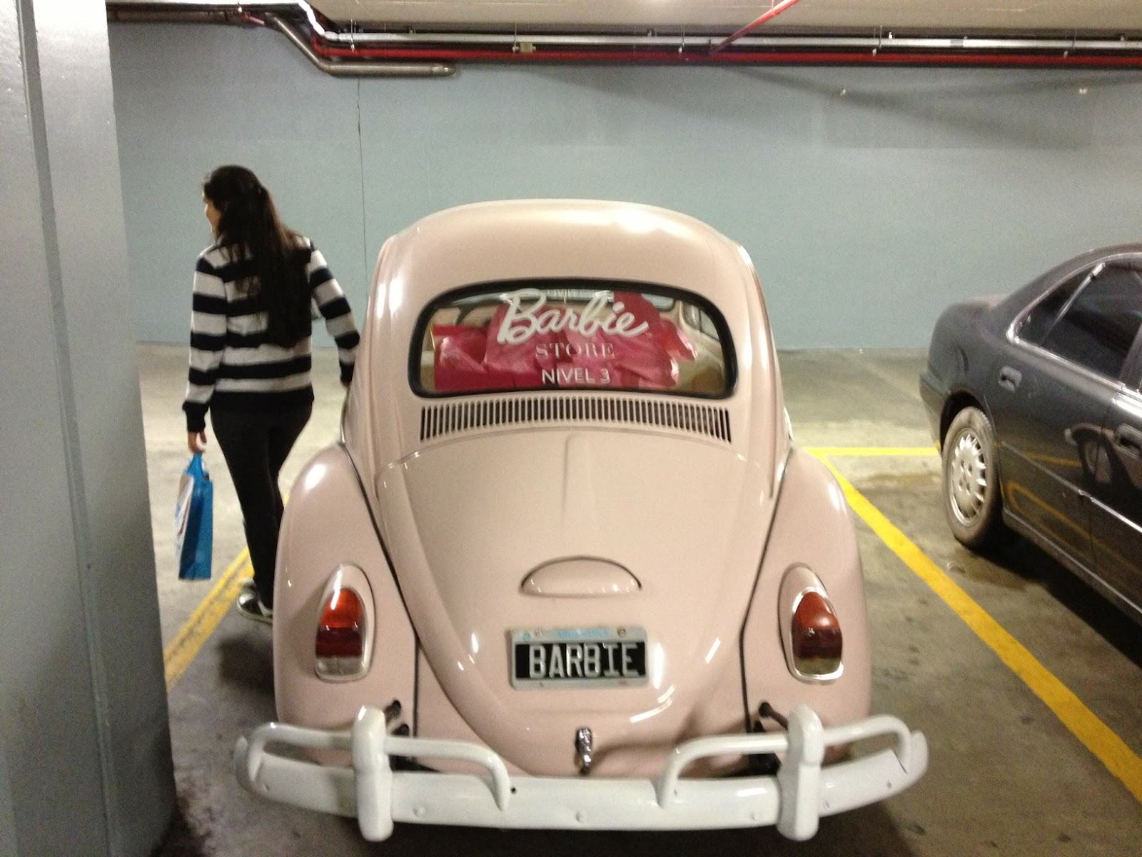Carro de Barbie 2