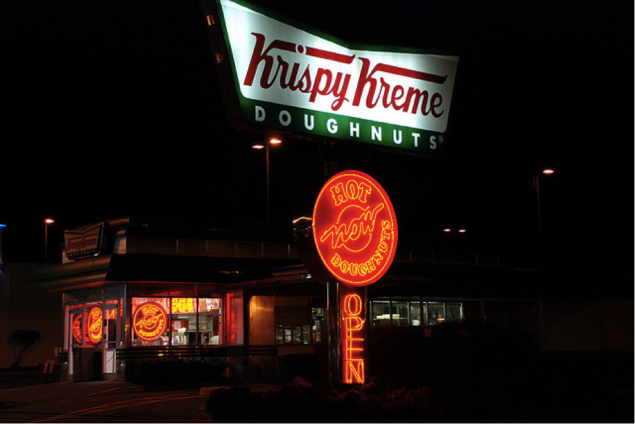 Krispy Kreme Hot Light 2