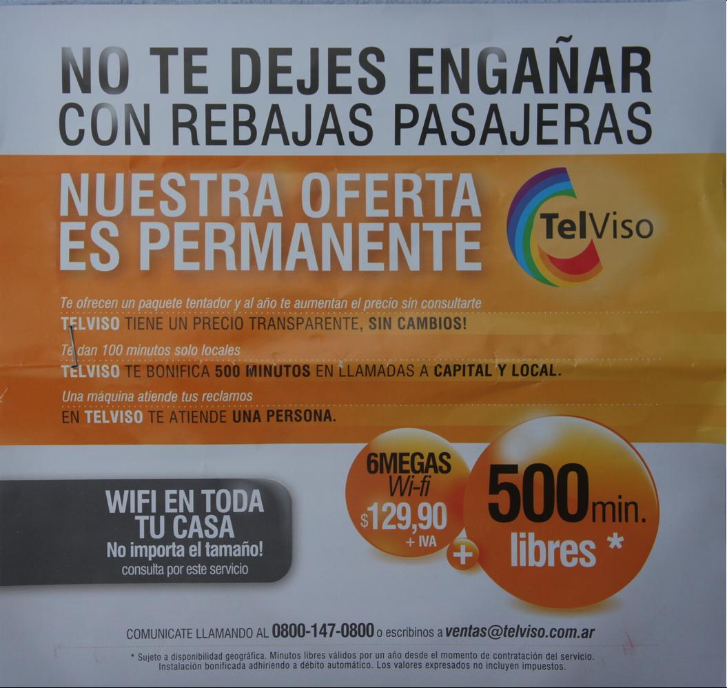 Publicidad Telviso