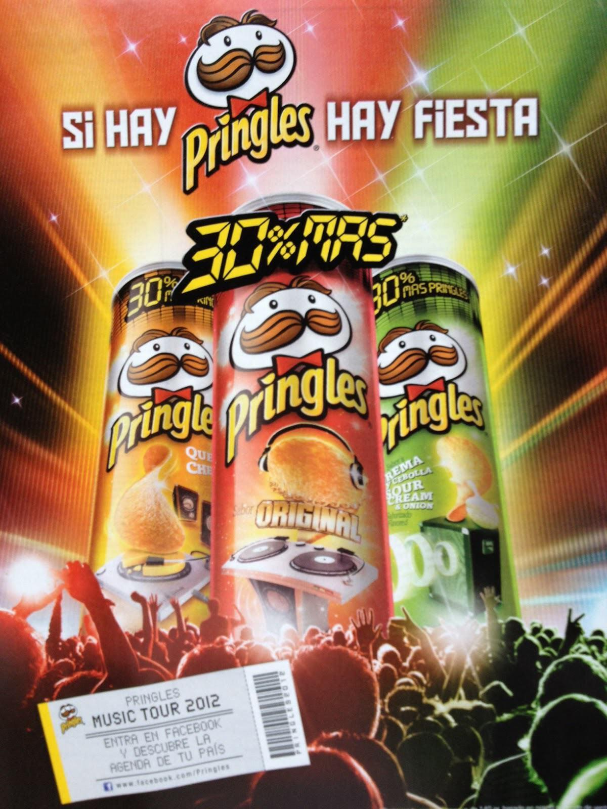Reposicionamiento Pringles