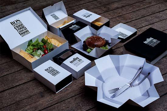 Trafiq bar restaurante - Cajas para llevar