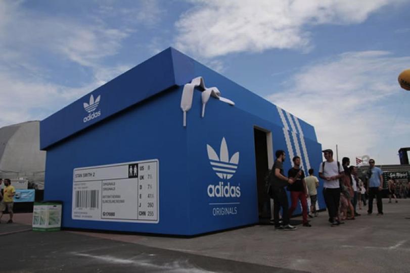Exhibicion especial Adidas