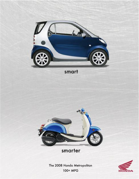 Honda vs Smart