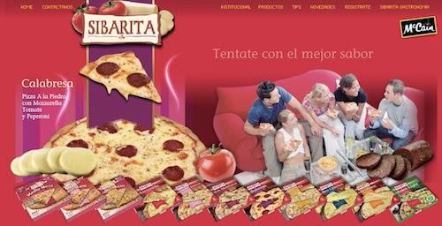 Portafolio Pizza Sibarita
