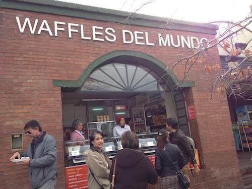 Waffles del mundo