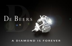 De Beers, a diamond is forever