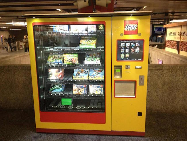 Vending machine de Lego
