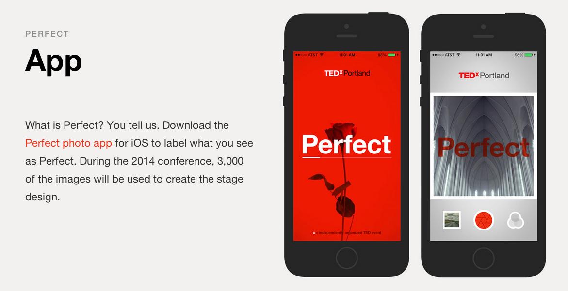 Aplicación TEDX Portland