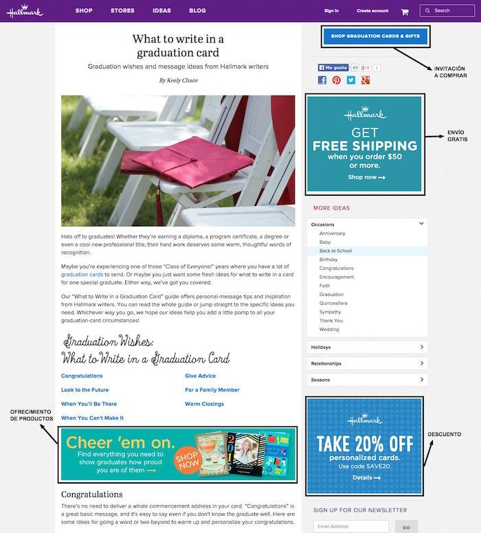 Hallmark articulo blog