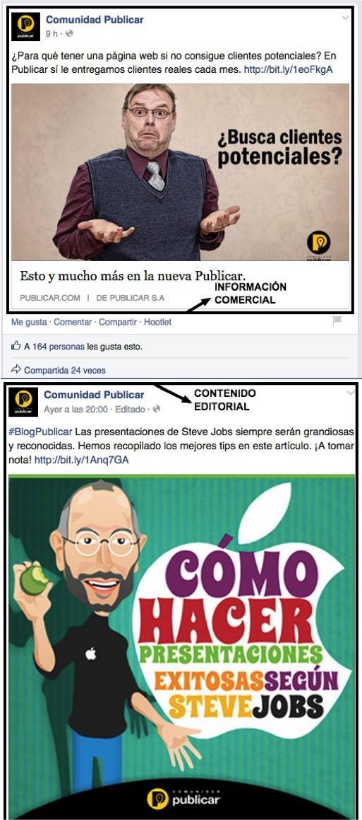 Publicar Facebook