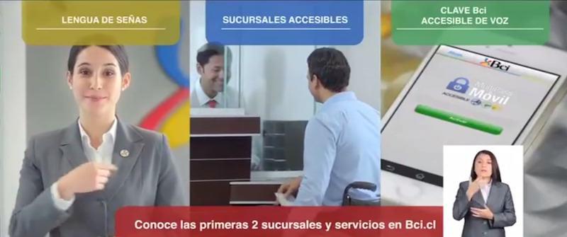 Banco BCI sucursal accesible