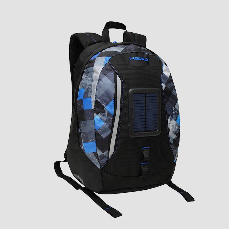 Head mochila panel solar