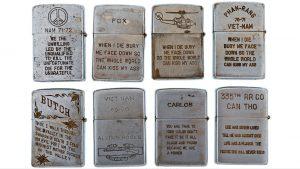 Zippos de la guerra de Vietnam