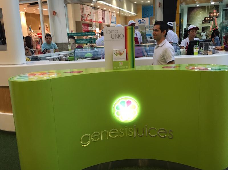 Genesis juices punto de venta