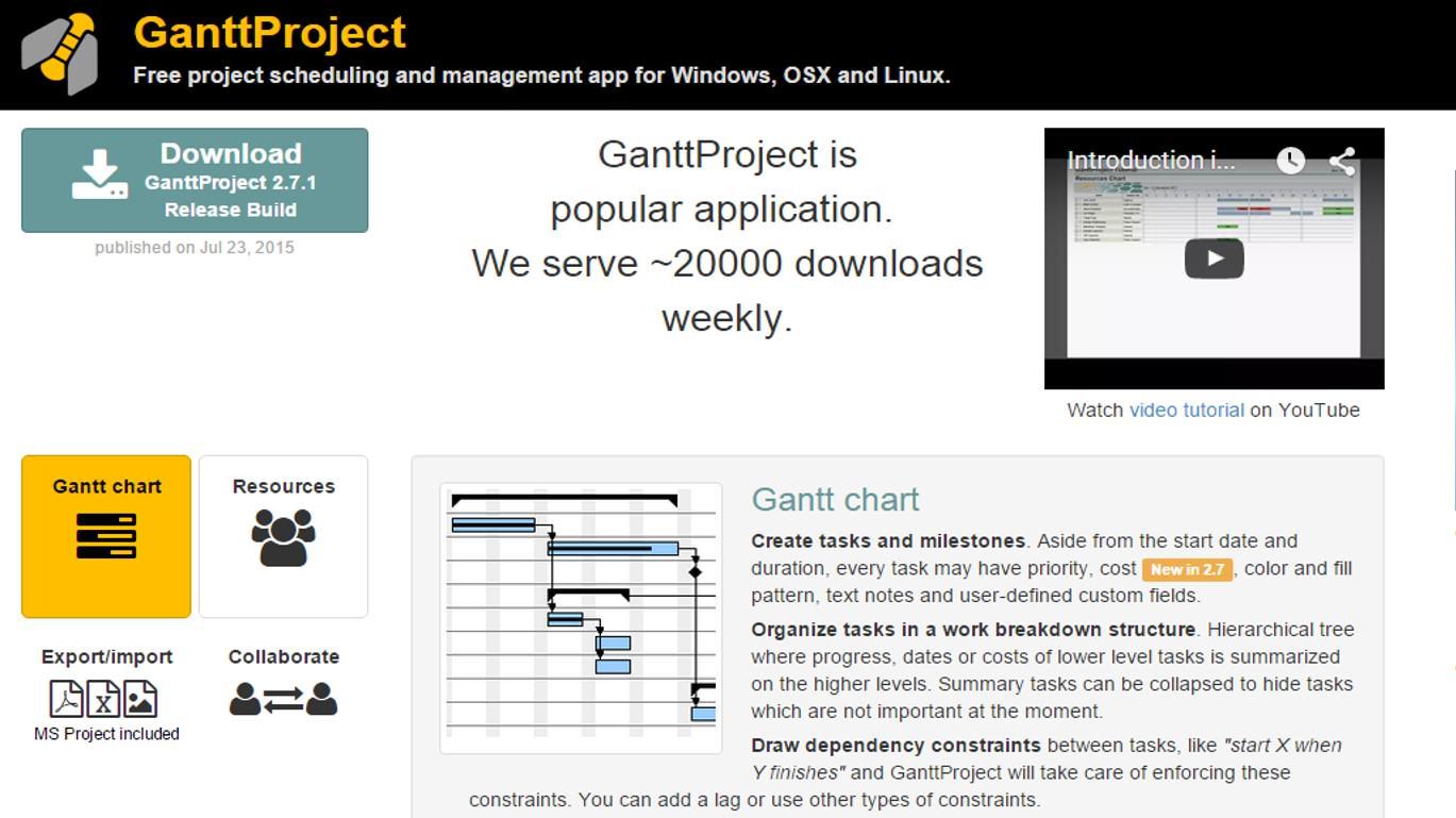 Gantt Project