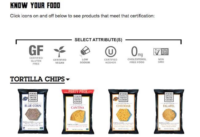Food Should Taste Good Certificaciones