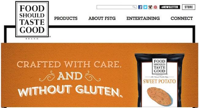 Food Should Taste Good Website