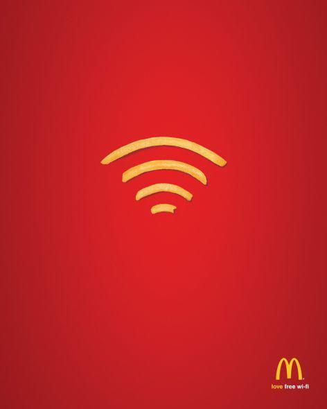 McDonalds - wi-fi gratis