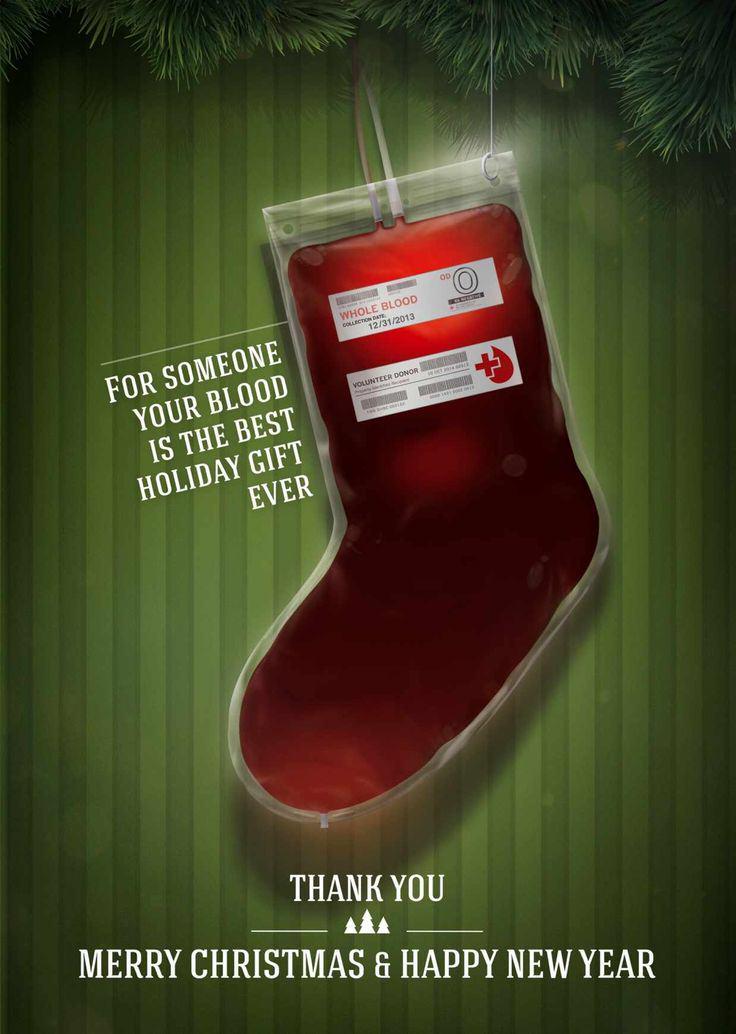 Anuncio para conseguir donantes de sangre