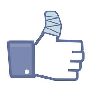 Facebook pierde efectividad