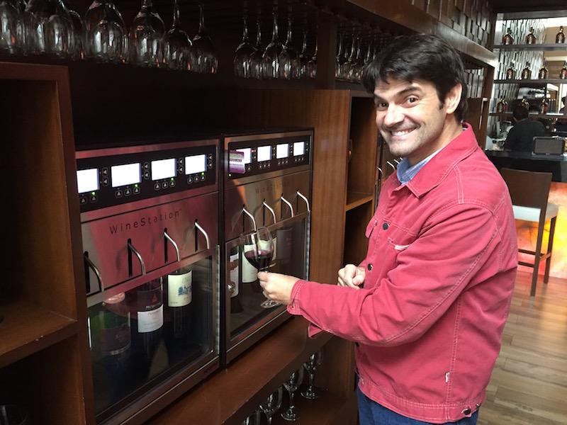 Viviendo la experiencia de vino por copa